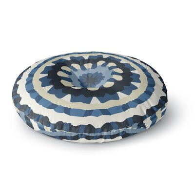 Laura Nicholson Ribbon Mandala Round Floor Pillow Size: 23 x 23