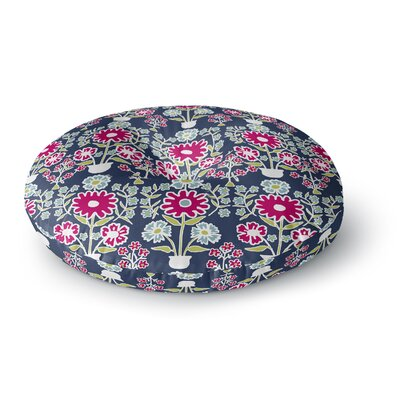 Laura Nicholson Turkish Vase Round Floor Pillow Size: 26 x 26