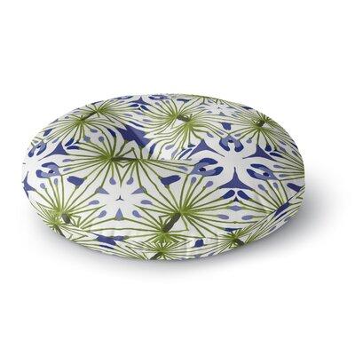 Laura Nicholson Thalia Floral Round Floor Pillow Size: 23 x 23