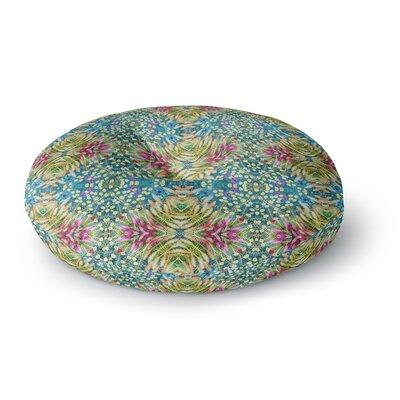 Laura Nicholson Prairie Dazzler Floral Round Floor Pillow Size: 26 x 26
