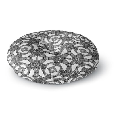 Laura Nicholson Twiggy Boxes Geometric Round Floor Pillow Size: 23 x 23