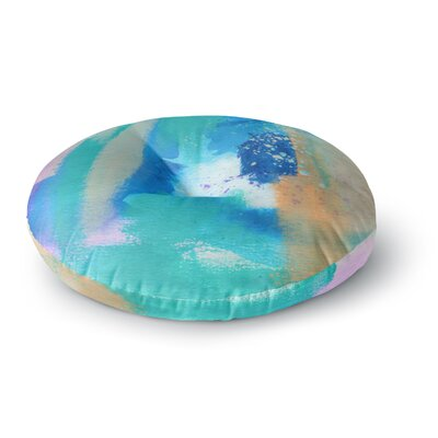 Li Zamperini About Round Floor Pillow Size: 23 x 23