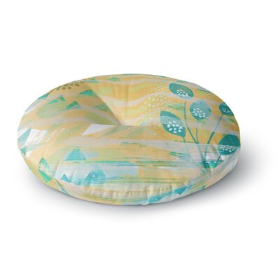 Li Zamperini Foliage Round Floor Pillow Size: 26 x 26