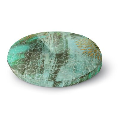Li Zamperini Land Round Floor Pillow Size: 26 x 26
