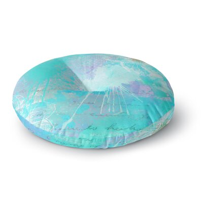 Li Zamperini Vintage Dreams Painting Round Floor Pillow Size: 26 x 26