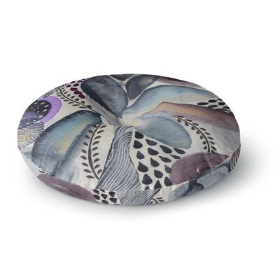 Li Zamperini Organic Watercolor Round Floor Pillow Size: 23 x 23