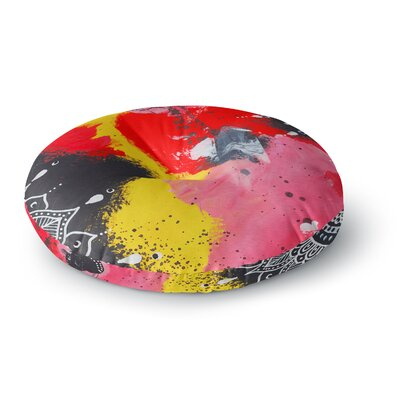Li Zamperini Changes I Illustration Round Floor Pillow Size: 23 x 23