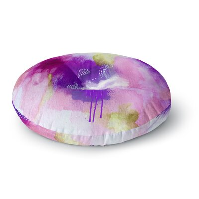 Li Zamperini Light Watercolor Round Floor Pillow Size: 23 x 23