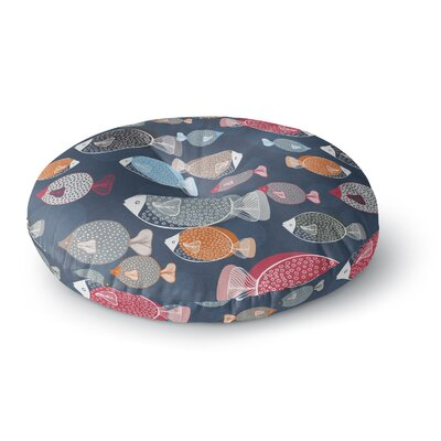 Melissa Armstrong Swim School Round Floor Pillow Size: 26 x 26