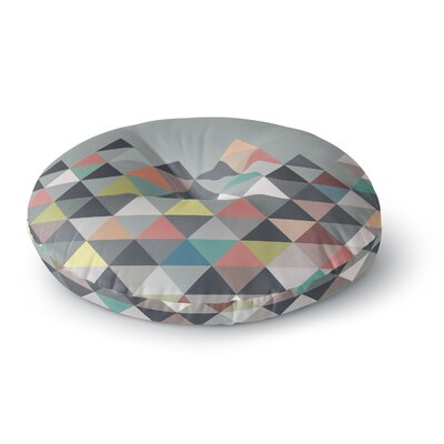 Mareike Boehmer Nordic Combination Abstract Round Floor Pillow Size: 23 x 23