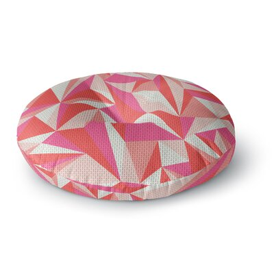 MaJoBV Stitched Pieces Round Floor Pillow Size: 23 x 23