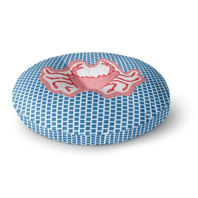 MaJoBV Cangrejo Crab Round Floor Pillow Size: 23 x 23
