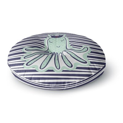 MaJoBV Pulpo Octopus Round Floor Pillow Size: 23 x 23