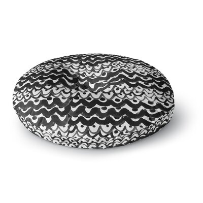 MaJoBV Finger Scales Round Floor Pillow Size: 23 x 23