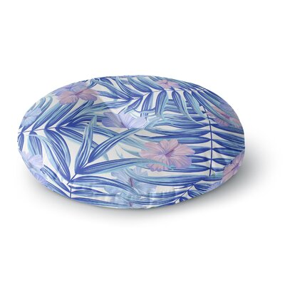 Marta Olga Klara Hawaiian Pattern Round Floor Pillow Size: 26 x 26
