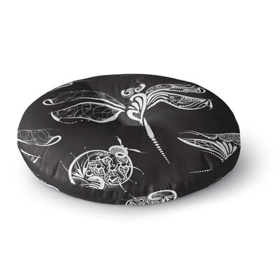 Maria Bazarova Insects Animals Round Floor Pillow Size: 23 x 23