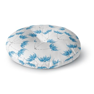 Maria Bazarova Flower Centaur 2 Digital Round Floor Pillow Size: 23 x 23