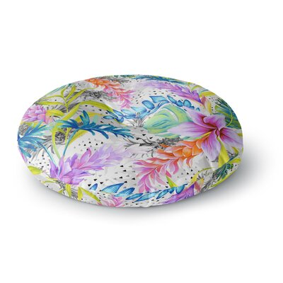 Mmartabc Exotic Pattern Illustration Round Floor Pillow Size: 23 x 23