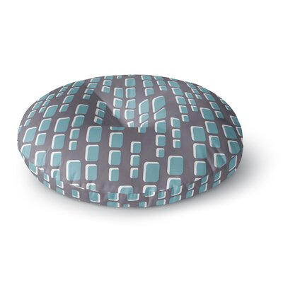 Michelle Drew Cubic Geek Chic Round Floor Pillow Size: 23 x 23