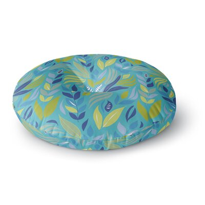 Michelle Drew Underwater Bouquet Round Floor Pillow Size: 23 x 23