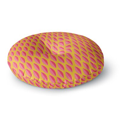Michelle Drew Seed Pods Round Floor Pillow Size: 23 x 23