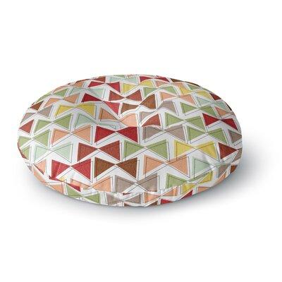 Michelle Drew Bowties Round Floor Pillow Size: 23 x 23