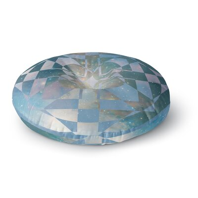 Matt Eklund Galactic Hope Round Floor Pillow Size: 26 x 26