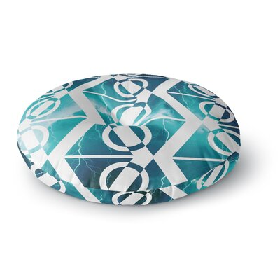 Matt Eklund Storm Round Floor Pillow Size: 26 x 26