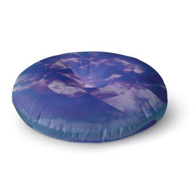 Matt Eklund Spectral Round Floor Pillow Size: 23 x 23