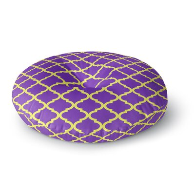 Matt Eklund Culture Shock Round Floor Pillow Size: 26 x 26