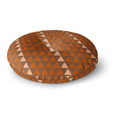Matt Eklund Overload Autumn Round Floor Pillow Size: 26 x 26