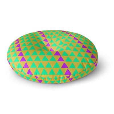 Matt Eklund Fiesta Round Floor Pillow Size: 23 x 23