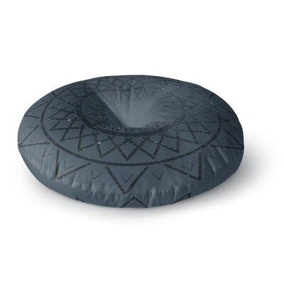 Matt Eklund Lunar Sundial Geometric Round Floor Pillow Size: 26 x 26