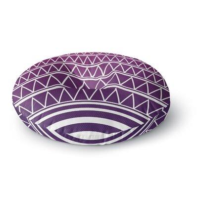 Matt Eklund Amethyst Portal Round Floor Pillow Size: 26 x 26
