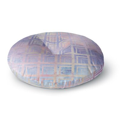 Matt Eklund Tiled Dreamscape Round Floor Pillow Size: 26 x 26