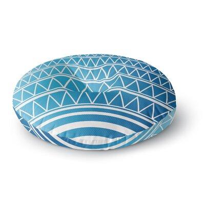 Matt Eklund Azure Portal Round Floor Pillow Size: 26 x 26