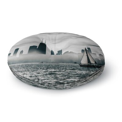 Mary Carol Fitzgerald Free Spirit Chicago Photography Round Floor Pillow Size: 26 x 26