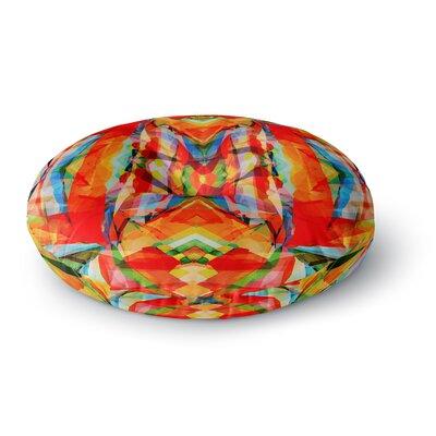 Matthias Hennig Motley Round Floor Pillow Size: 26 x 26