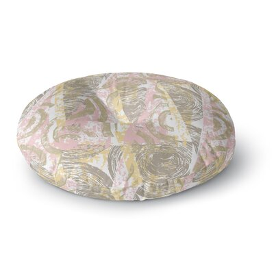Chickaprint Scrubs Round Floor Pillow Size: 23 x 23