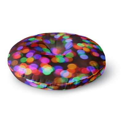 Maynard Logan Lights II Round Floor Pillow Size: 23 x 23