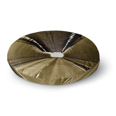 Maynard Logan Tunnel Round Floor Pillow Size: 23 x 23