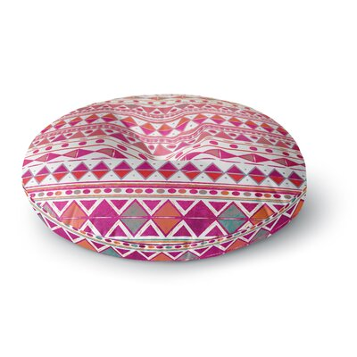 Nika Martinez Summer Breeze Round Floor Pillow Size: 23 x 23