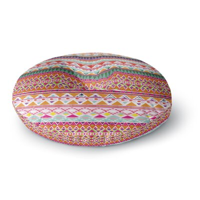 Nika Martinez Chenoa Round Floor Pillow Size: 23 x 23