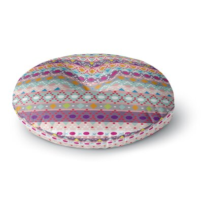 Nika Martinez Ayasha Round Floor Pillow Size: 23 x 23