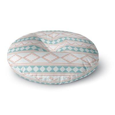 Nika Martinez Yerbabuena Round Floor Pillow Size: 23 x 23