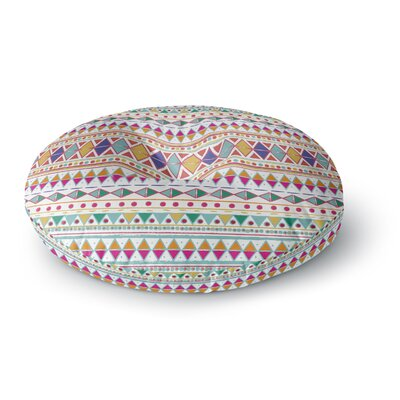 Nika Martinez Native Fiesta Round Floor Pillow Size: 26 x 26