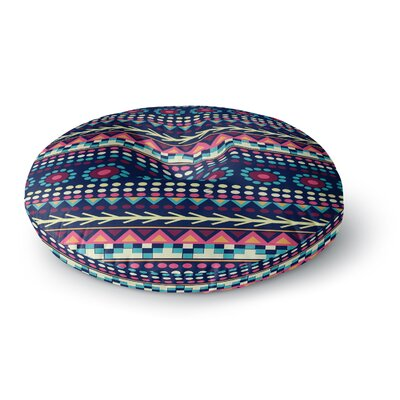 Nika Martinez Aiyana Round Floor Pillow Size: 23 x 23