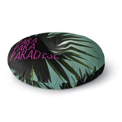 Nika Martinez Exotic Paradise Round Floor Pillow Size: 26 x 26