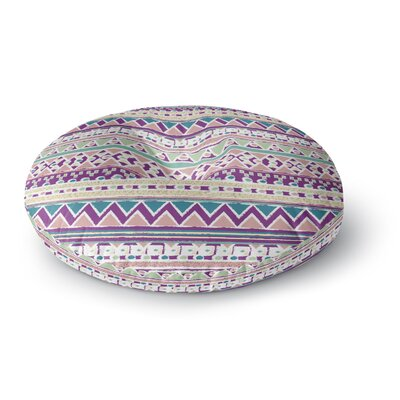 Nika Martinez Boho Ibiza Round Floor Pillow Size: 23 x 23