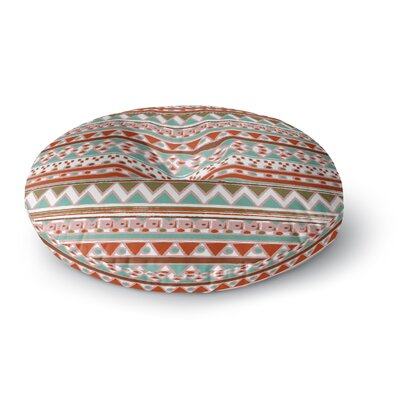 Nika Martinez Boho Mallorca Round Floor Pillow Size: 23 x 23